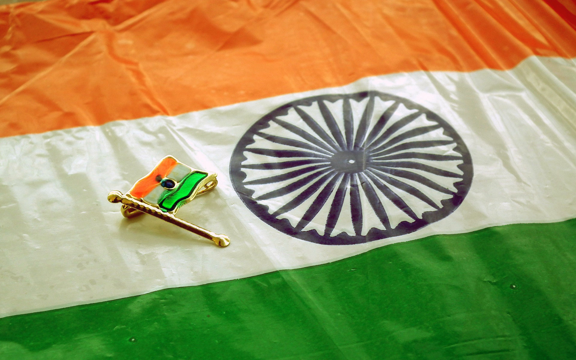 India Flag Badge