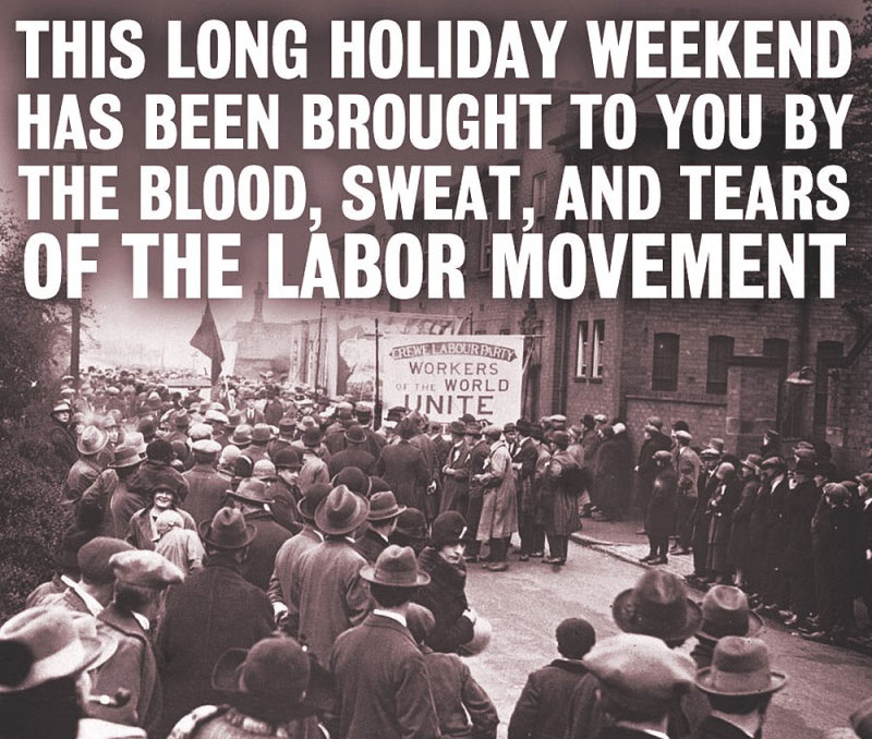 Labor Day Movement Quote