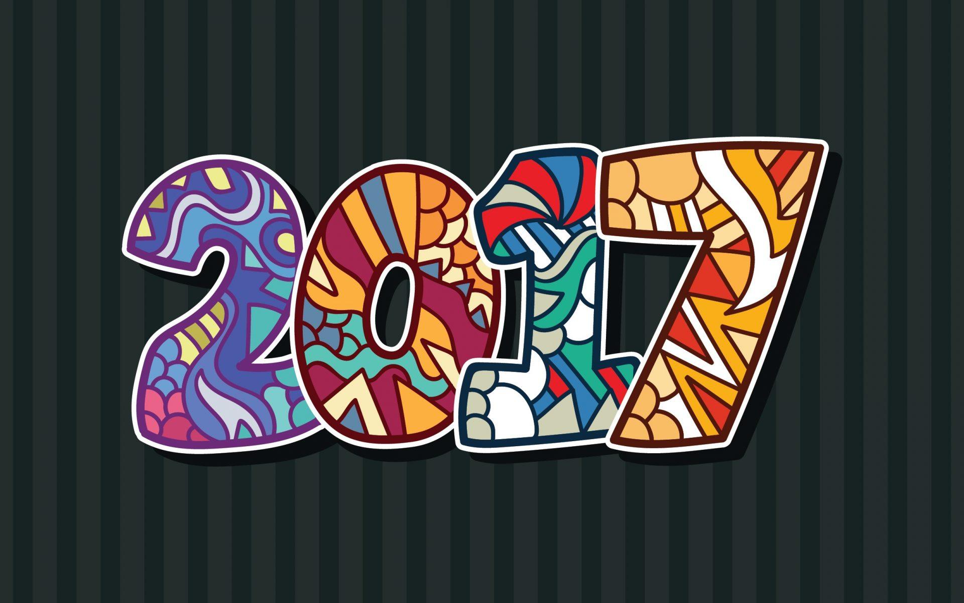 Happy New Year Greetings 2017 Wallpaper