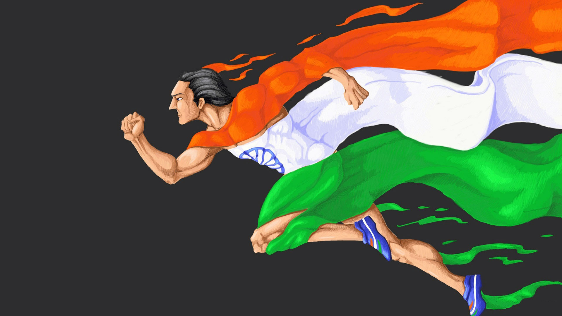 Indian Flag Marathon