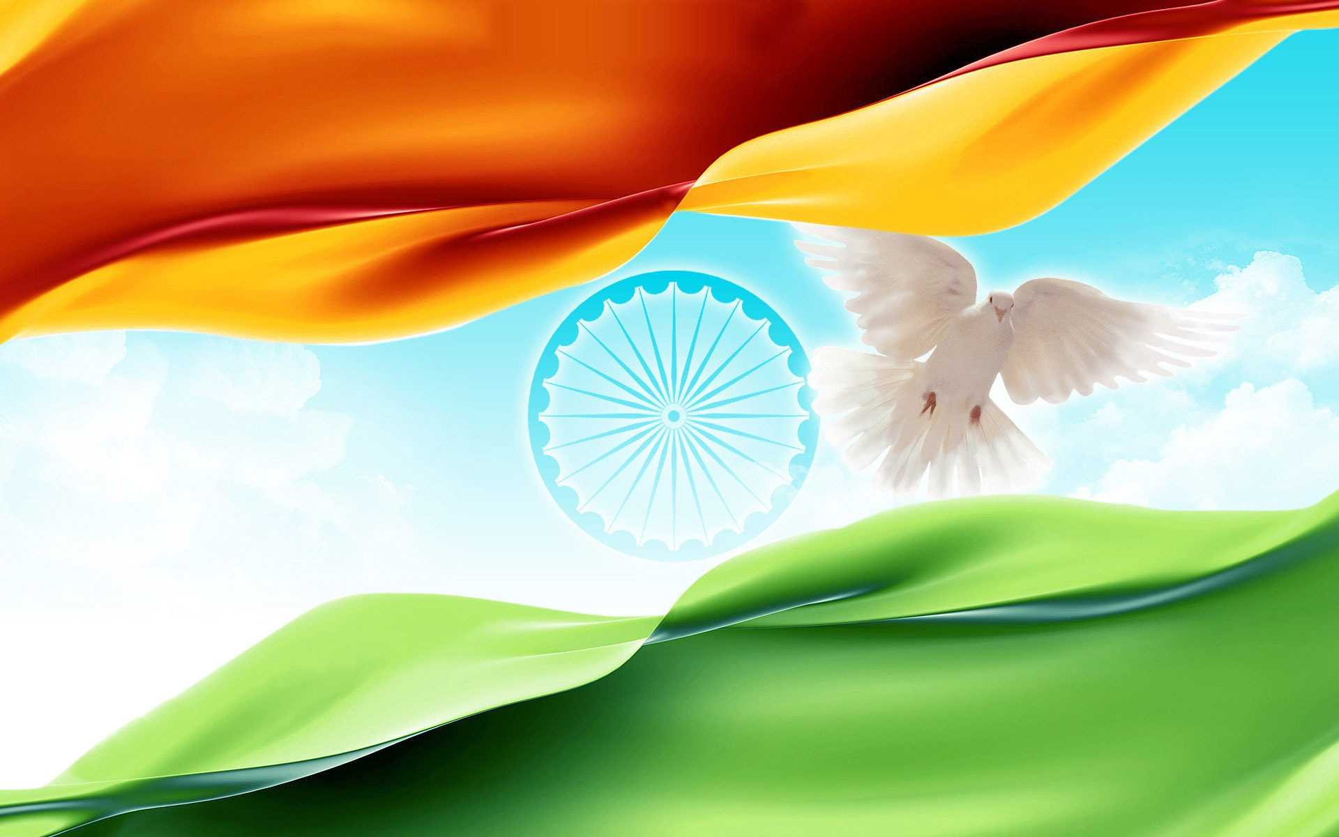 Indian Flag Peace
