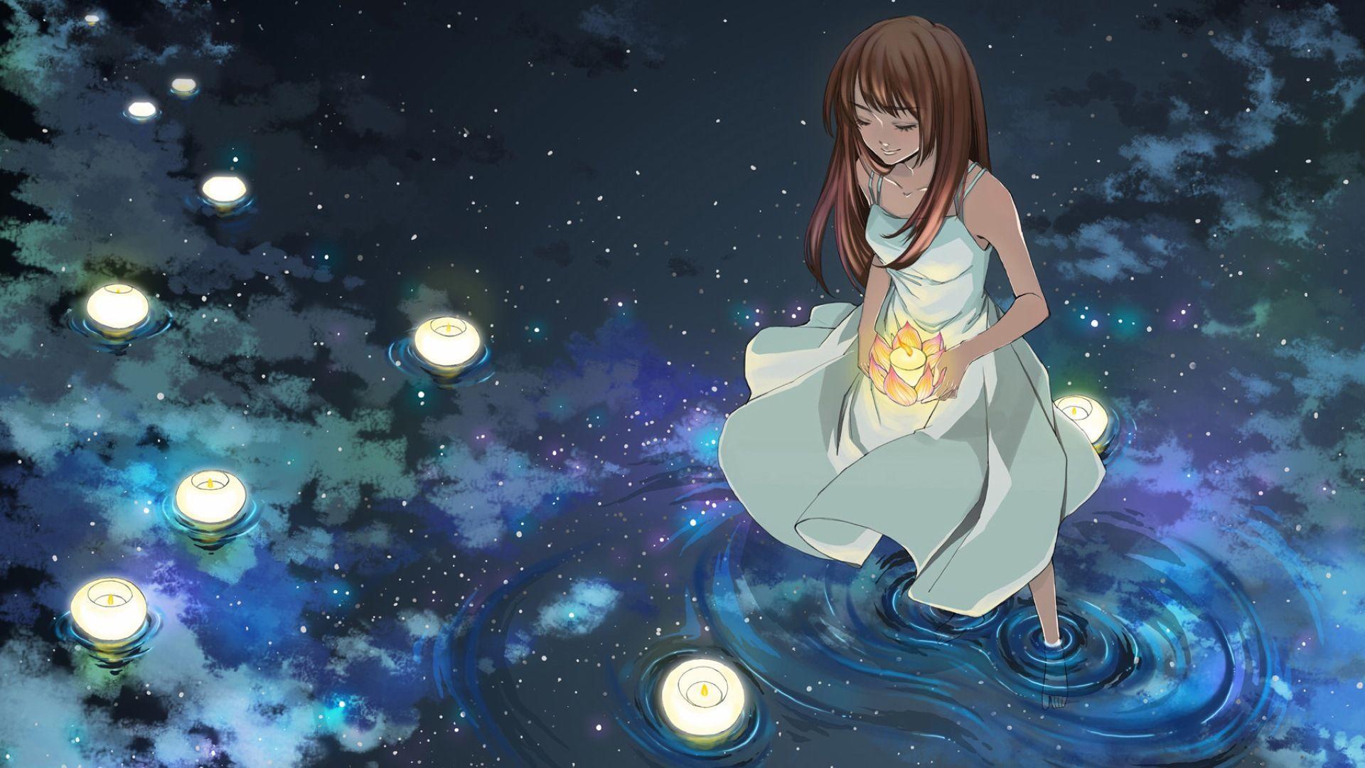 Praying Anime Wallpaper
