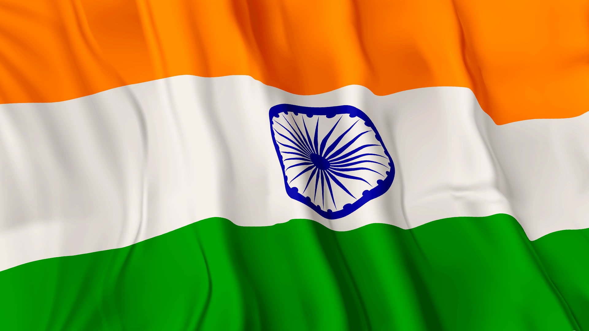Indian Flag Full HD Tricolour Flag of India Waving