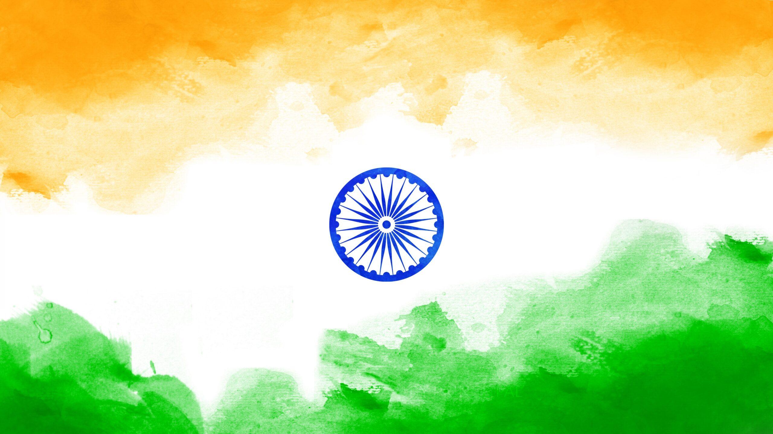 Tricolour Indian Flag Ultra HD 4k