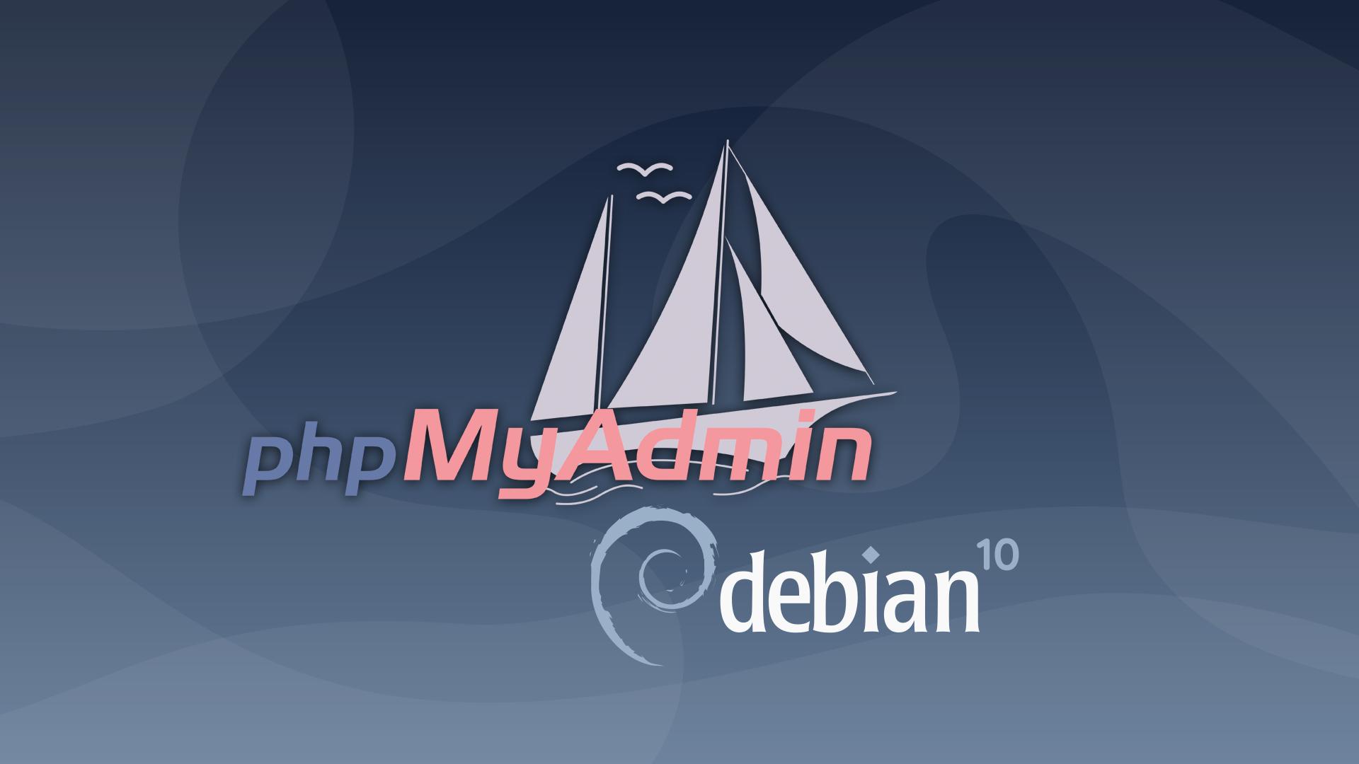 phpMyAdmin on Debian 10