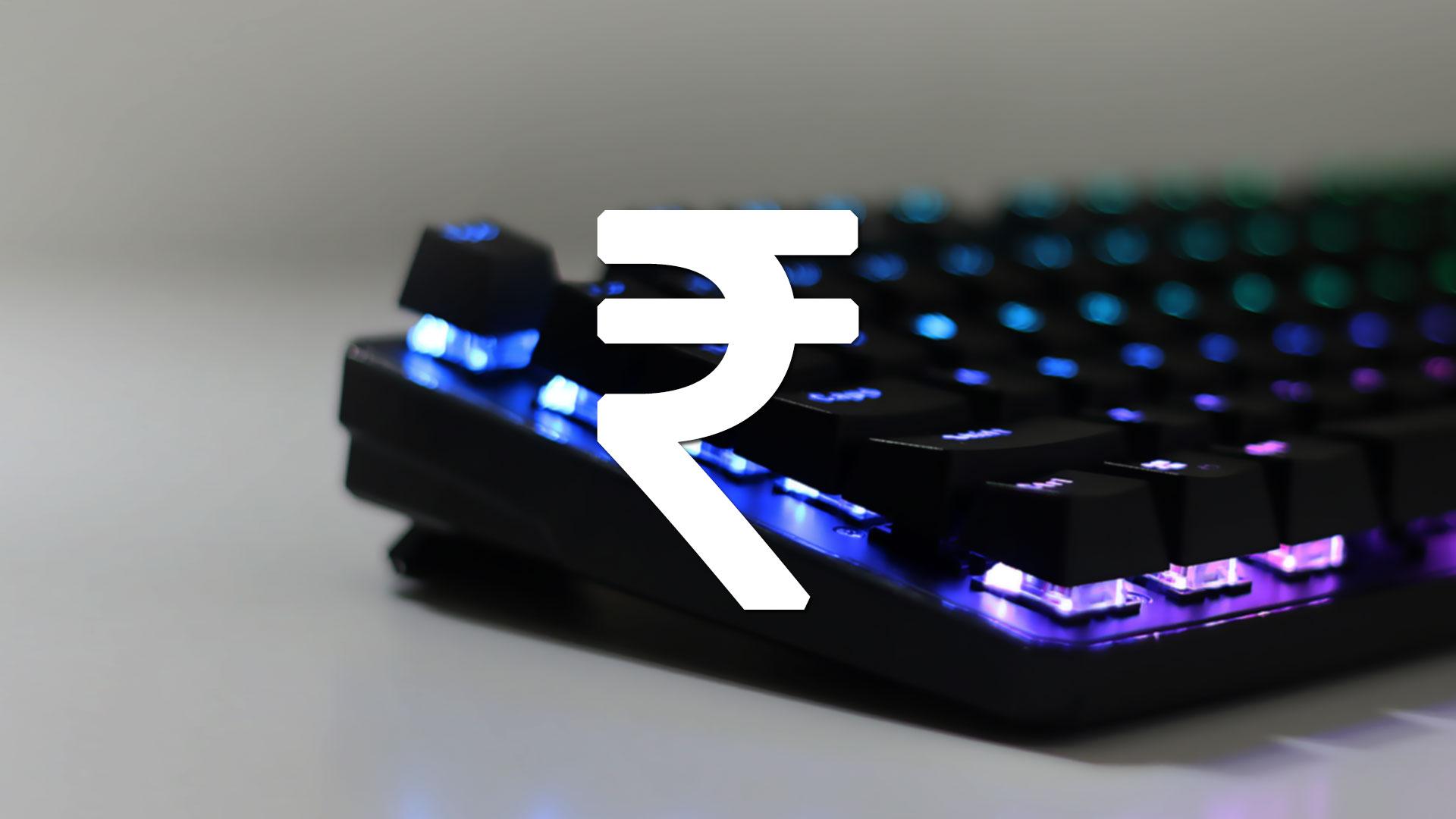 """Rupee """"₹"""" Symbol"""