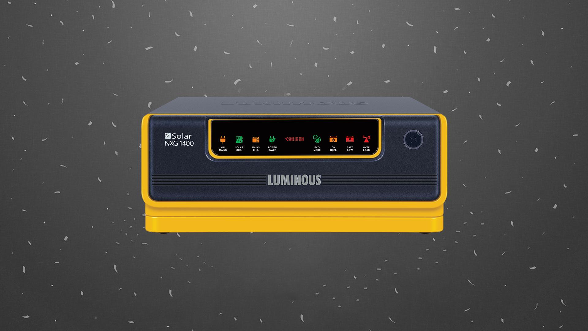 Luminous Solar NXG 1400 Inverter UPS