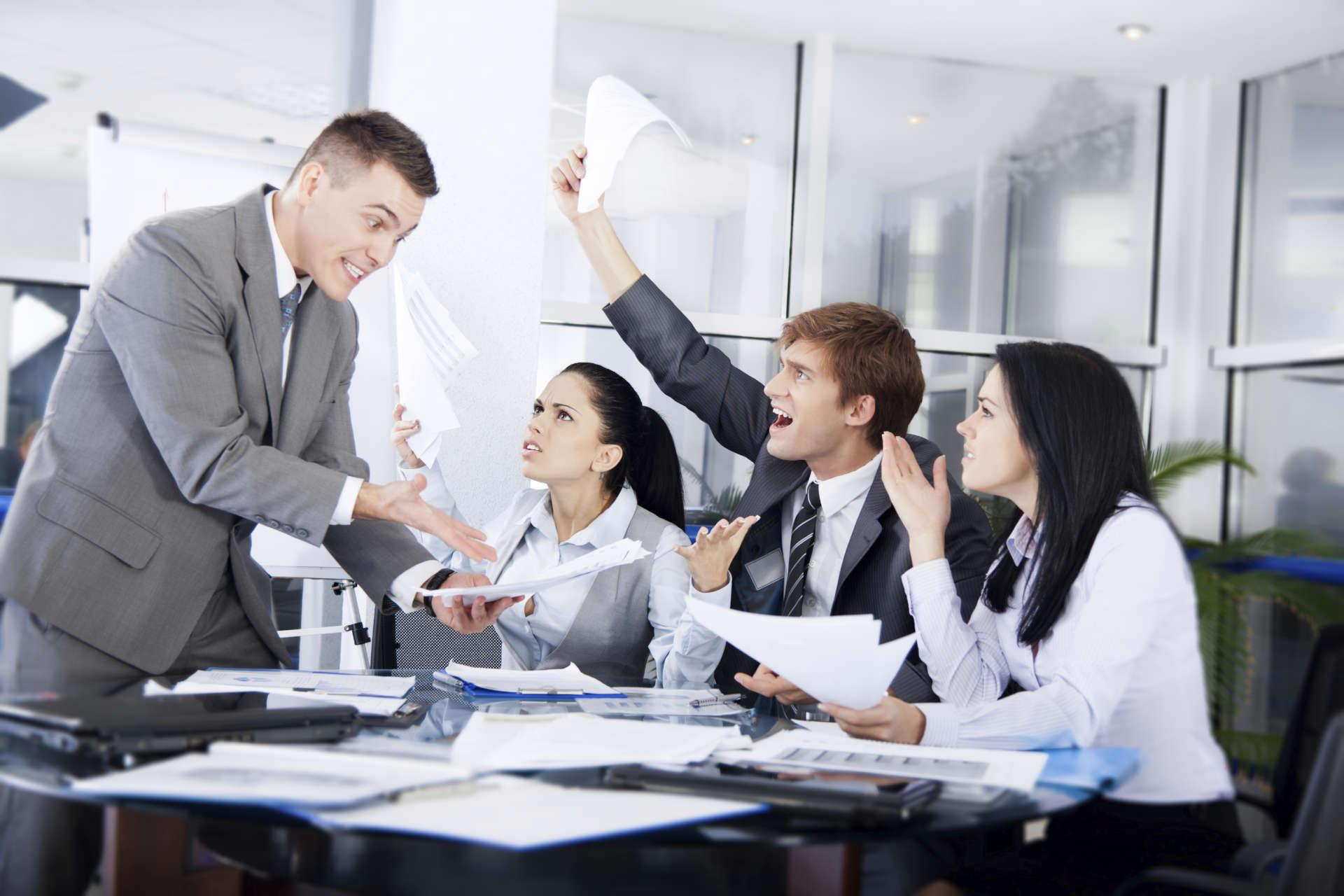 Negative Work Environment