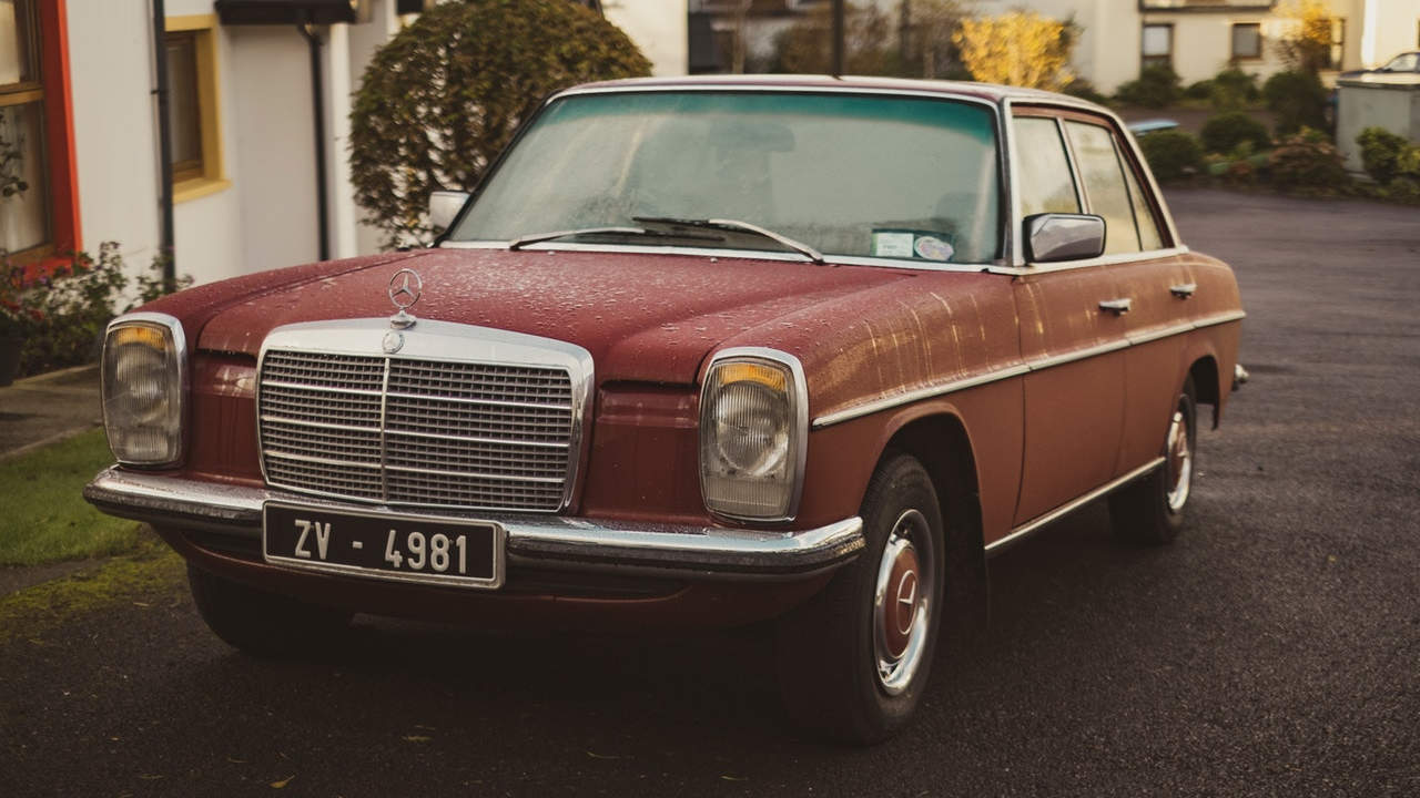 Old Mercedes Benz Car