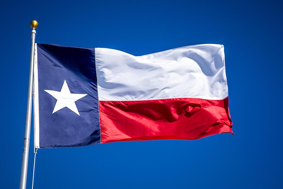 Texas Flag Waving Image