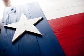 Texas Wood Flag Image