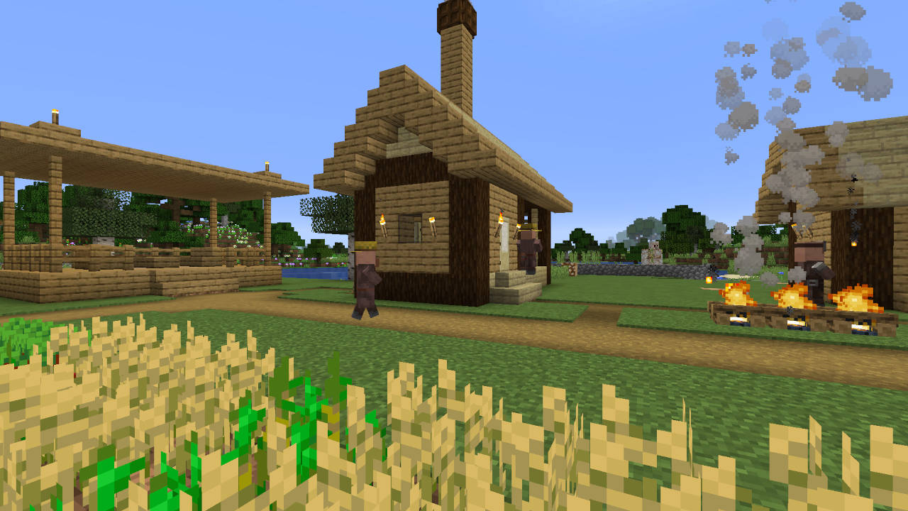 Minecraft Villagers and Their Professions