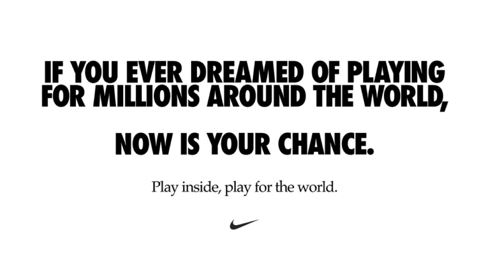 Nike: Play Inside Campaign