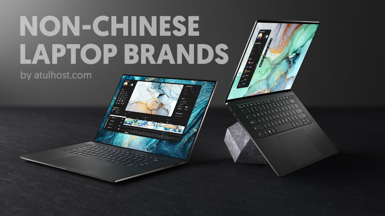 Non-Chinese Laptop Brands
