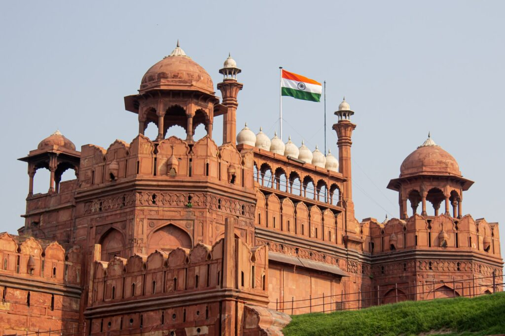 indian-flag-red-fort
